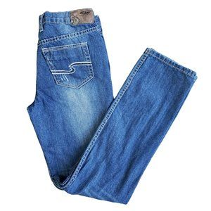 "SILVER ""Nathan"" Medium Wash Jeans 16"